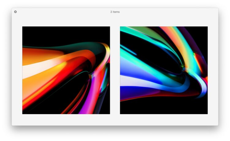 Les 2 fonds d'écran par défaut 16″ MacBook Pro Wallpapers Are Gorgeous, Grab Them Here