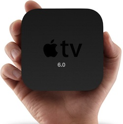 Mise à jour d'Apple TV 6.0 avec prise en charge de iTunes Radio et iCloud Photo Stream