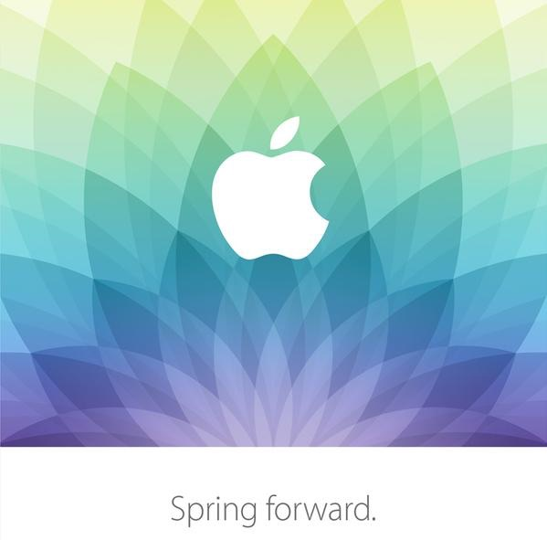 Apple accueillera le 9 mars l'événement médiatique « Spring Forward » en Livestreamed
