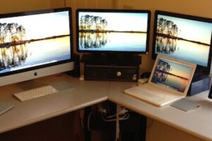Configurations Mac : iMac 27″, MacBook Pro 15″, MacBook 13″, iPad 1, et un couple de PC