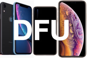 Comment entrer en mode DFU sur l'iPhone XS, l'iPhone XR, l'iPhone XS Max