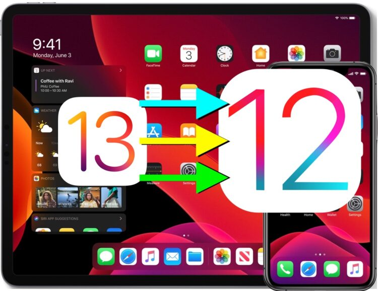 Comment déclasser iOS 13 Beta en iOS 12