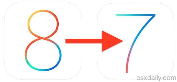 Comment déclasser iOS 8 Beta en iOS 7