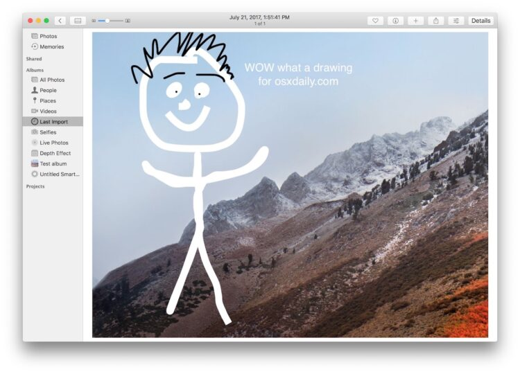 Comment dessiner à partir de photos sur un Mac