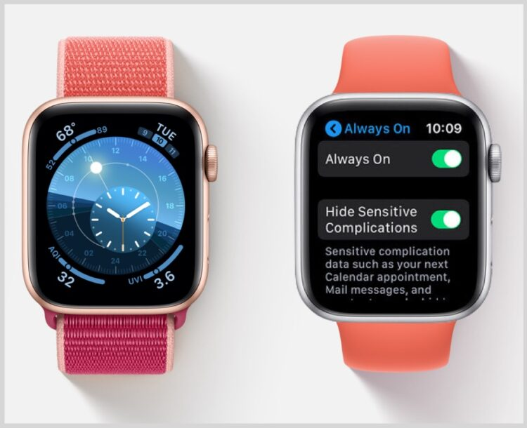 Comment désactiver / activer l'option « Always On Display » pour Apple Watch