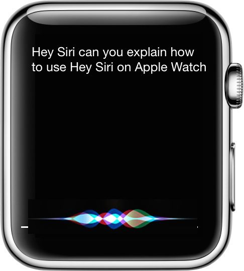 Comment utiliser « Hey Siri » sur Apple Watch