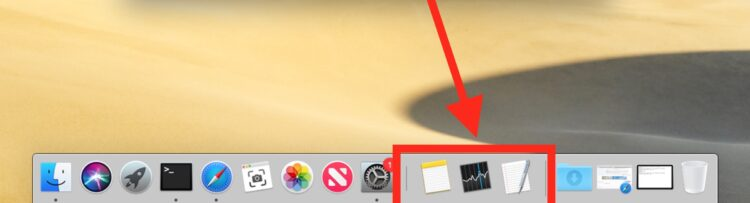 Comment cacher les applications récentes du dock dans MacOS Mojave