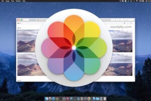 Comment importer des images dans l'application Photos sous Mac OS X