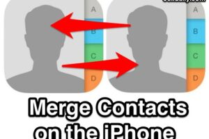 Comment fusionner des contacts sur iPhone à partir d'iOS