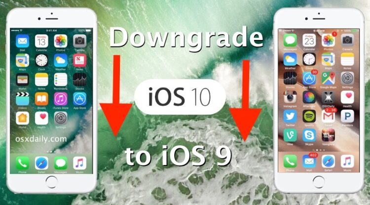 Comment déclasser iOS 10 Beta en iOS 9.3.3