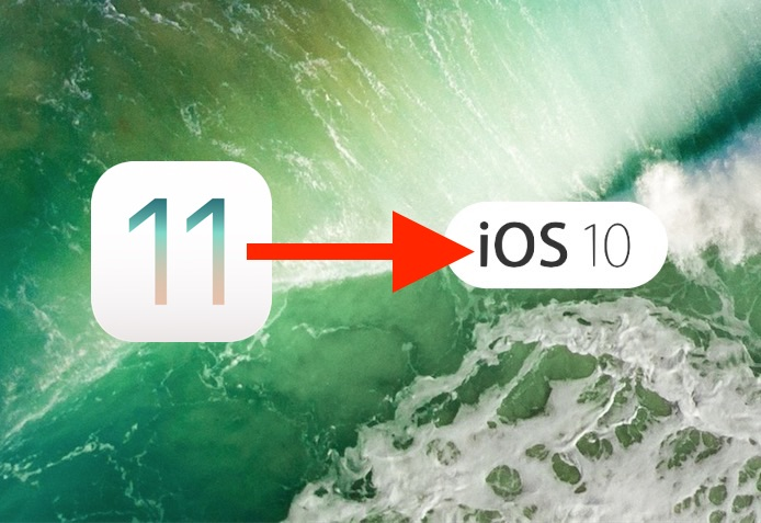 Comment déclasser iOS 11 Beta en iOS 10