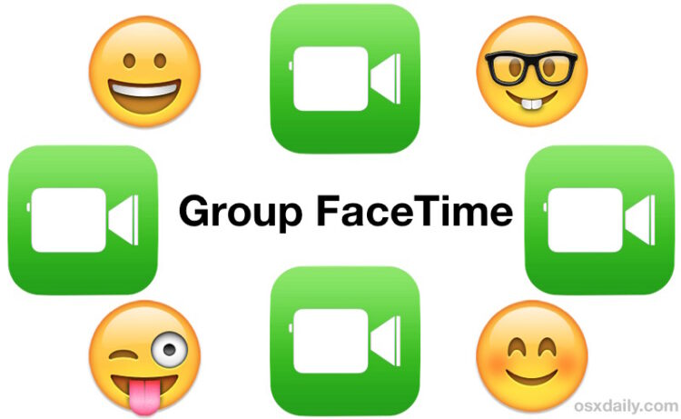 Comment utiliser Group FaceTime sur l'iPhone et l'iPad