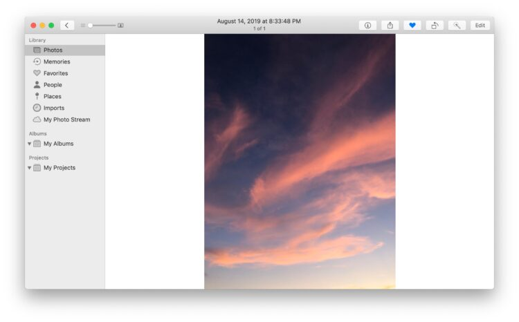 Comment faire pivoter des photos sur Mac avec l'application Photos