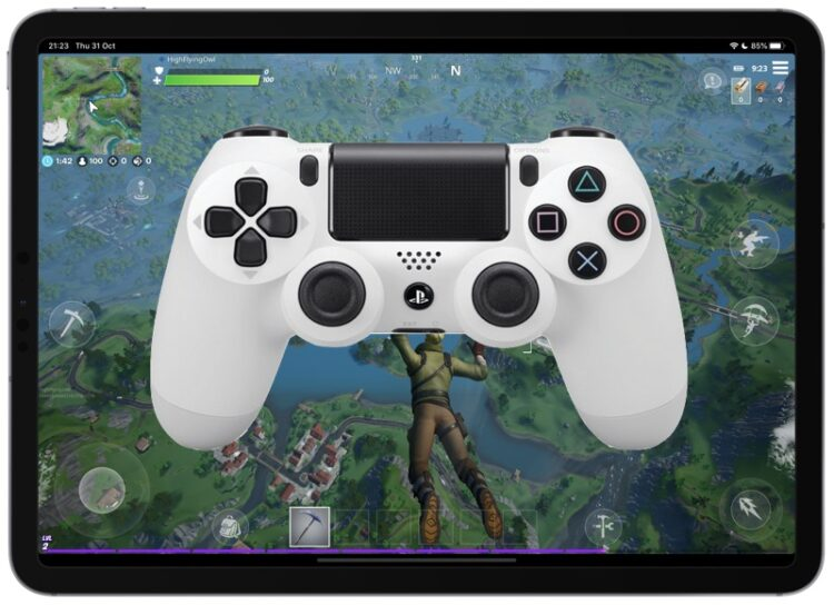 Comment connecter une manette PS4 à l'iPhone ou à l'iPad