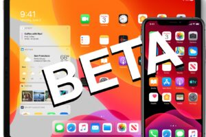 Publication de la version bêta 1 de l'iOS 13.1