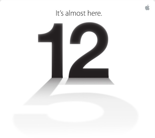 L'iPhone 5 arrive : Apple annonce l'événement du 12 septembre