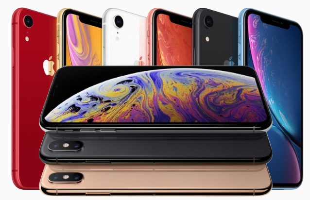 Sortie de l'iPhone Xs, de l'iPhone Xs Max, de l'iPhone Xr et de l'Apple Watch 4