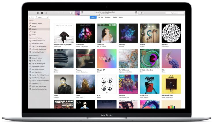 Lancement d'iTunes 12.7, suppression de l'App Store