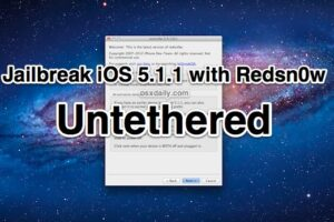 Comment briser la prison iOS 5.1.1 Untethered with Redsn0w