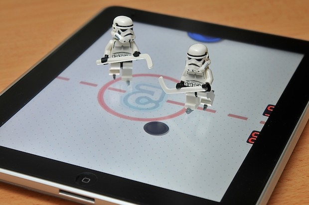 iPad Lego Hockey