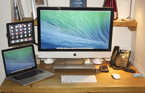Configurations Mac : Le bureau d'un fournisseur de solutions de cloud computing