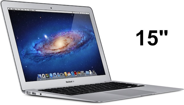 MacBook Air 15″ A venir en mars 2012 ?
