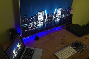Configuration du Mac : MacBook Pro & TV as Display