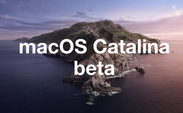 Téléchargement de MacOS Catalina 10.15 Beta 6 disponible