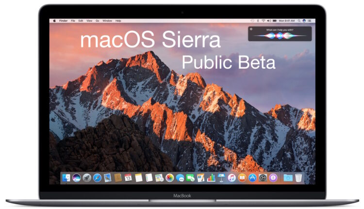 macOS Sierra 10.12 Beta 7 disponible pour les tests