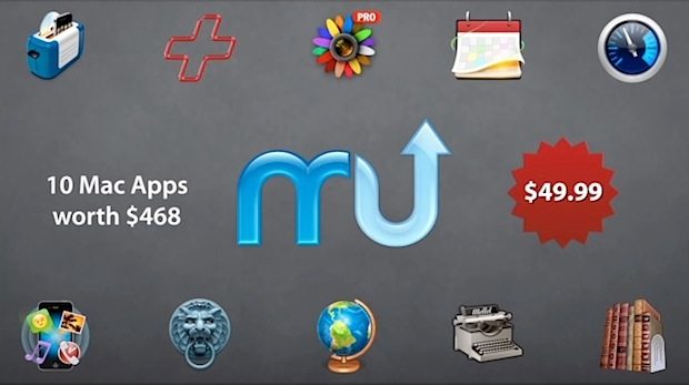 MacUpdate Bundle : 11 applications Mac pour 49,99