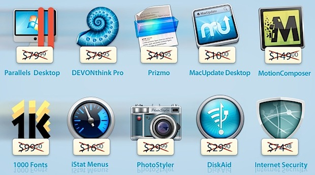 MacUpdate Spring Bundle 2013 : 10 superbes applications pour 50 dollars