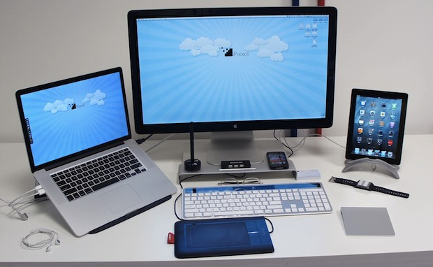 Configurations Mac : Le bureau d'un responsable de start-up
