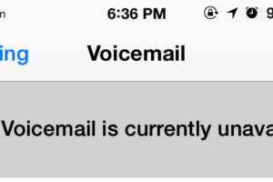 Correction de l'erreur « Visual Voicemail Unavailable » sur l'iPhone
