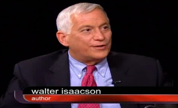 Charlie Rose interviewe Walter Isaacson sur Steve Jobs & the Biography