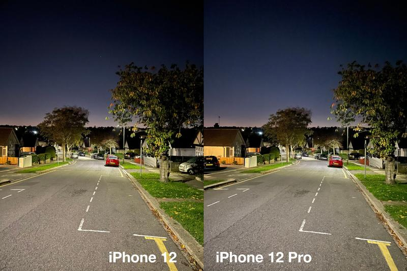 iPhone 12 commentaire: Mode Nuit