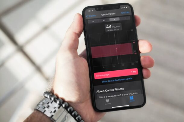 Comment configurer les niveaux de fitness cardio sur iPhone et Apple Watch