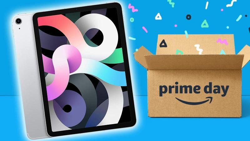 amazon discount ipad air 4 cellulaire wifi prime day